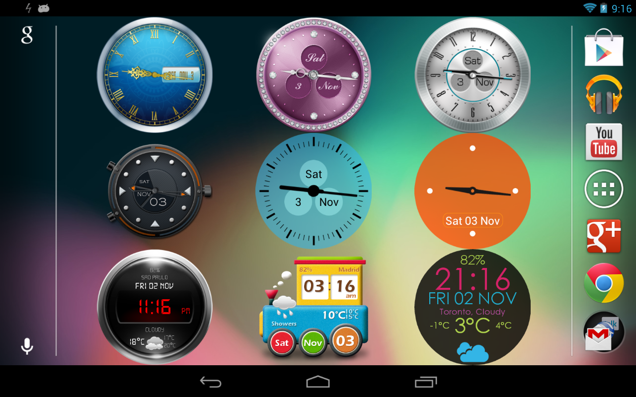 beautiful-clock-widgets