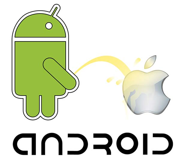 015-android-vs-apple-vector-image