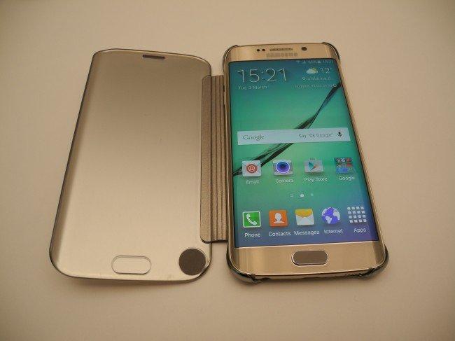 26c8cbda613 Si ya te enamoraste del Samsung Galaxy S6 y el Galaxy S6 Edge y estás  pensando en comprarlo en cuanto salga a la venta, en Juegos Androide te  traemos la ...