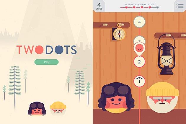 TwoDots un puzzle muy adictivo - Image