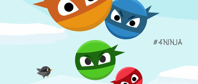 4 ninja 4 colores - Image
