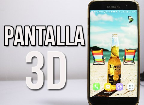 Pantalla 3D Para Android Muy Realista - Image