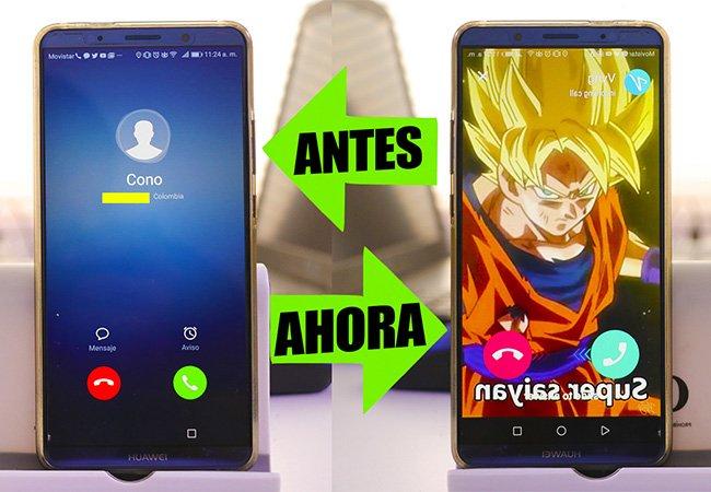CAMBIAR LA PANTALLA DE LLAMADA DE TU TELEFONO