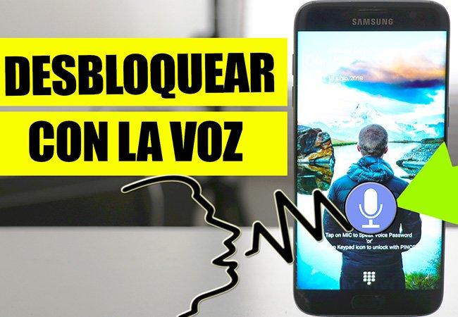 COMO DESBLOQUEAR EL TELÉFONO CON LA VOZ - Image