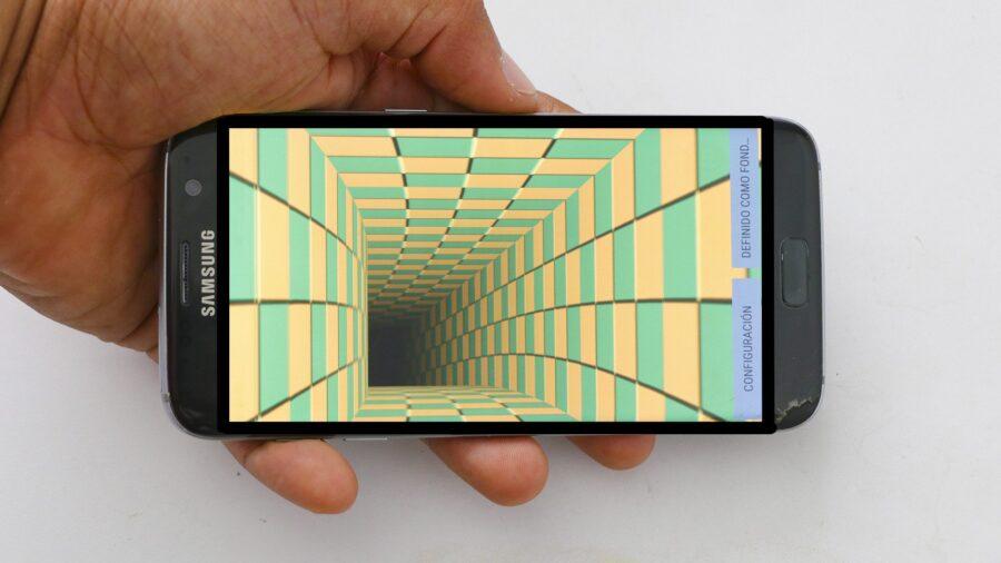 Fondo de pantalla con movimiento para Android - Image