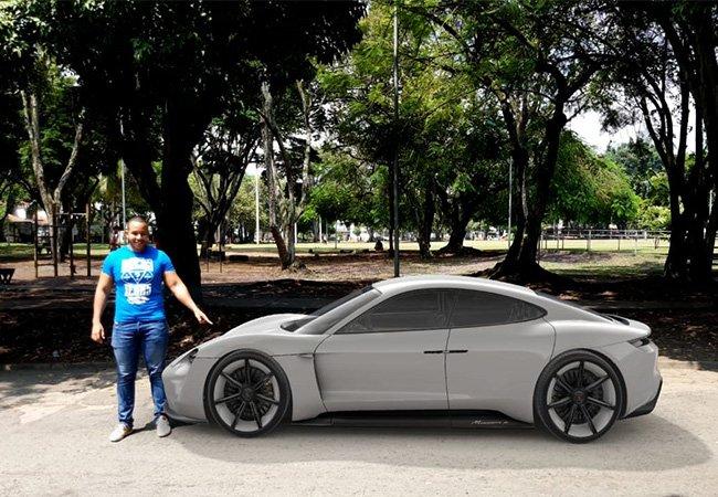 Conduce un Poderoso Porsche Mission E en la vida real desde Tu Telefono Android - Image