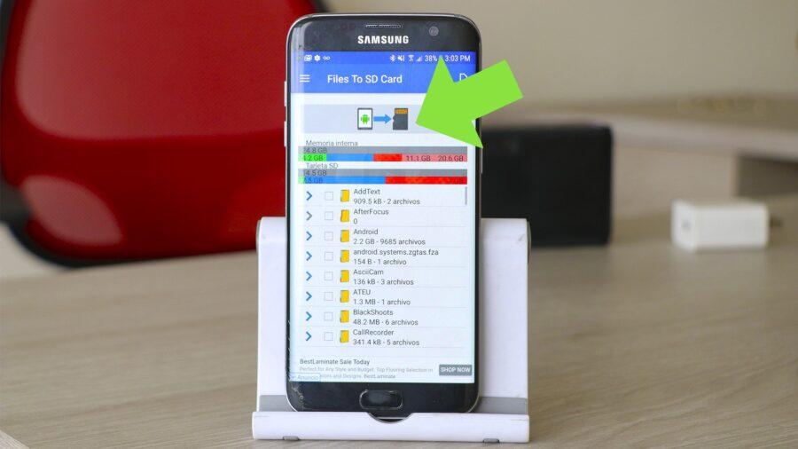 Mover Datos Pesados de Android a Una Tarjeta SD - Image
