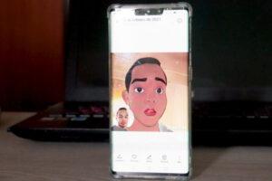 dibujo animado android,aplicacion de dibujo animado,hacer caricaturas en android,dibujo animado androide